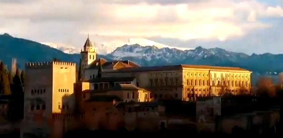 Альгамбра Андалусия Гранада