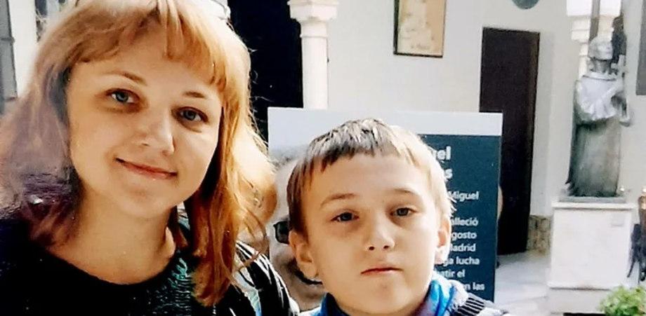 Светлана и ее сын Семён